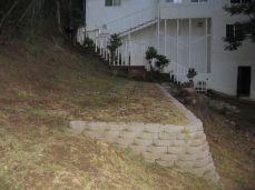 terracing installed