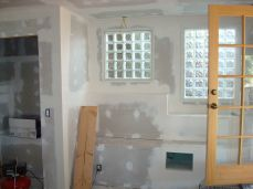 glass block windows for light and privacy