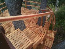laminated bentwood railing
