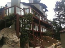 after renovations - we rebuilt the deck and railing