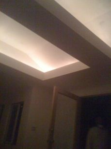 indirect lighting in cathedral ceilings