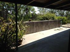 original deck and railing