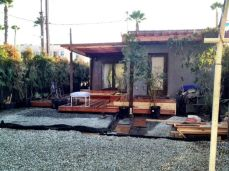 landscaping started